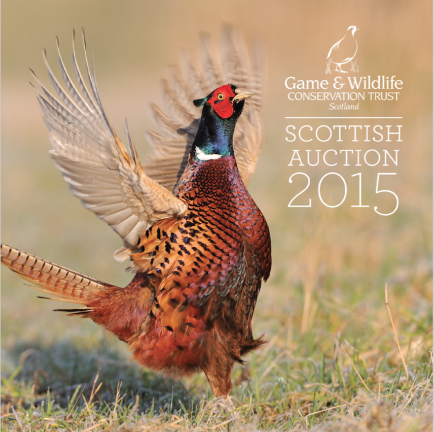 Game & Wildlife Conservation Trust (GWCT) Scottish Auction 2015