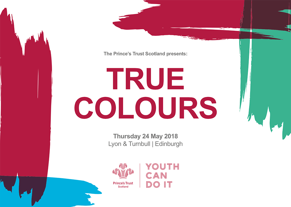 "Princes Trust ""True Colours"" charity auction"
